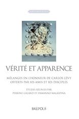 P. Galland, E. Malaspina (dir.),Vérité et apparence. Mélanges en l'honneur de Carlos Lévy