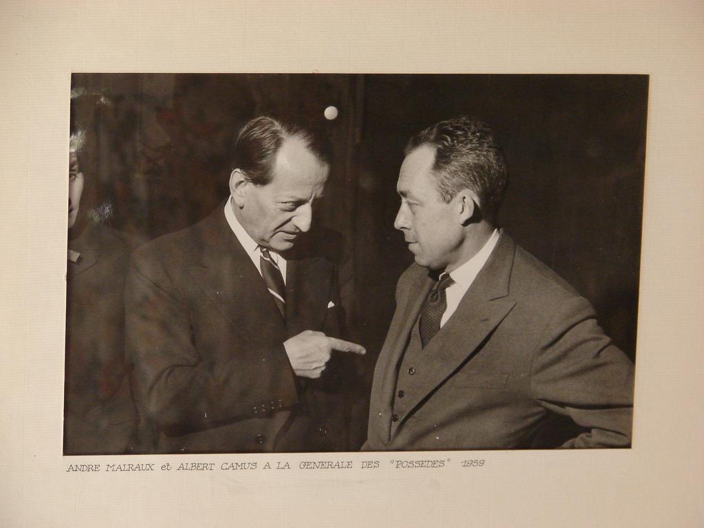 Malraux Camus