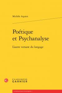 M. Aquien, Poétique et Psychanalyse - L'autre versant du langage