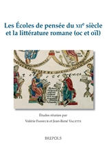 Les Écoles de pensée du XIIe siècle et la LIttérature romane (oc et oïl)
