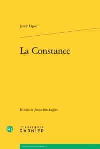 Juste Lipse, La Constance (éd. J. Lagrée)
