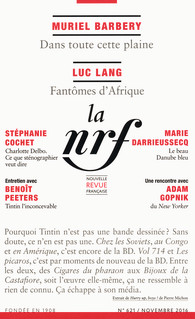 La Nouvelle Revue française, nov. 2016