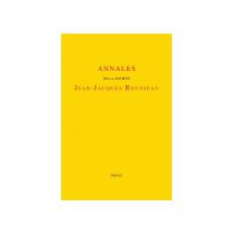 Annales Jean-Jacques Rousseau, t. 52 :