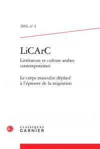 Littérature et culture arabes contemporaines, n° 4 :