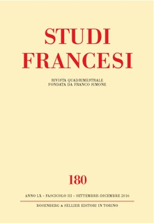 Studi Francesi 180