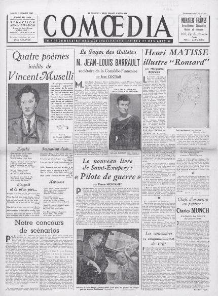 Circulations intellectuelles, transferts culturels & traductions dans la presse européenne francophone durant la Seconde Guerre mondiale (Nantes)