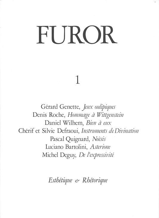 Furor poeticus