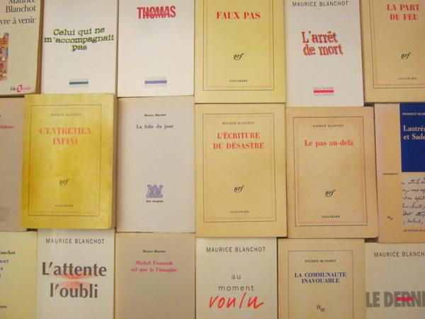 Maurice Blanchot. La littérature encore une fois (Comédie de Genève)