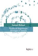 S. Bidaud, Études de linguistique théorique et romane