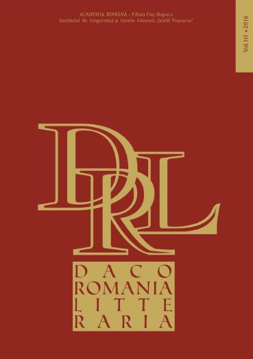 Dacoromania litteraria n° 3 :