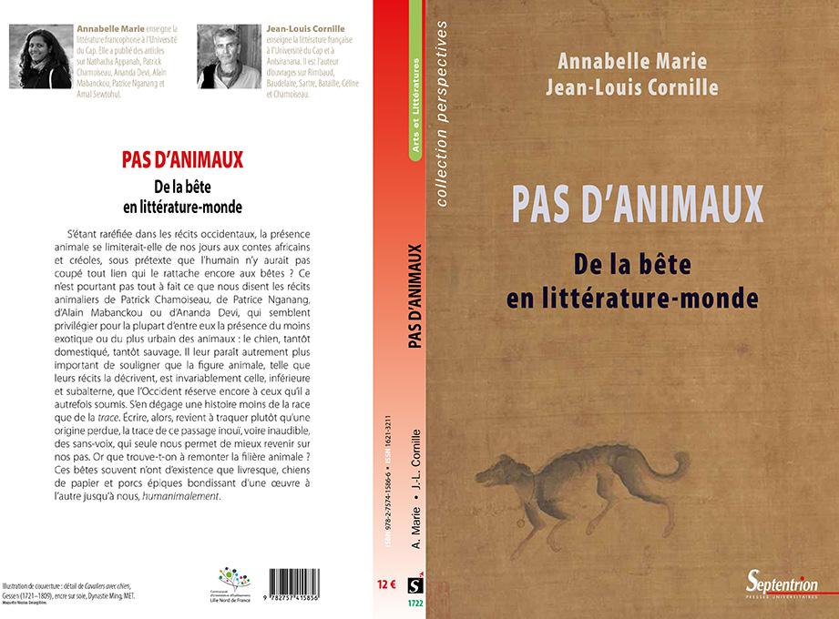 A. Marie, J.-L. Cornille, Pas d'animaux. De la bête en littérature-monde