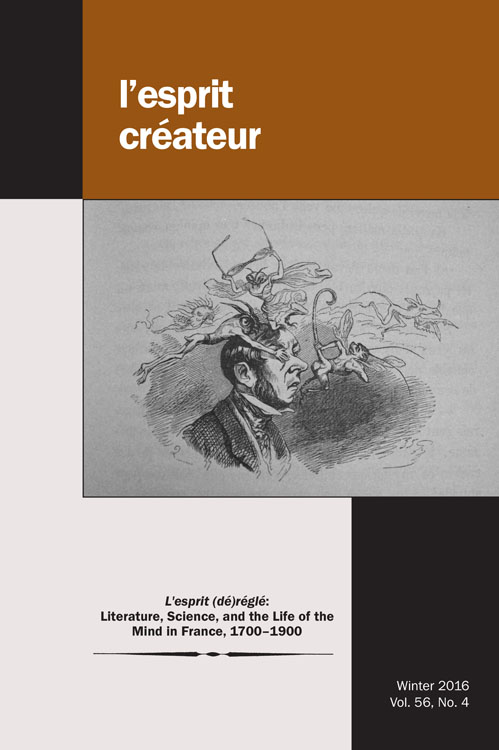 L'esprit (dé)réglé: Literature, Science, and the Life of the Mind in France, 1700-1900