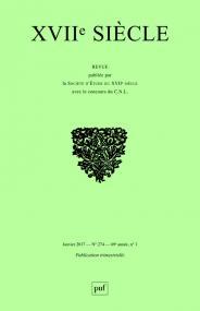 XVIIe Siècle, n° 274/1 :