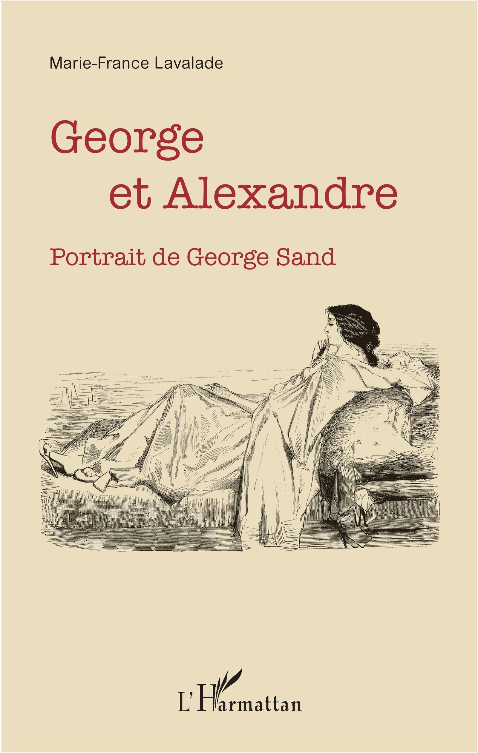 M.-F. Lavalade,GeorgeetAlexandre.Portrait de George Sand
