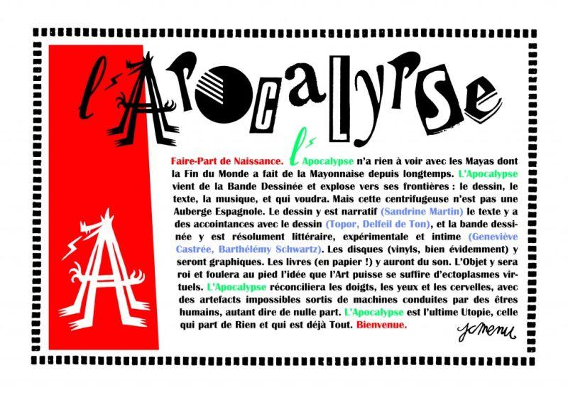 Voitachewski, <em>Les Joyeuses Morts de l'Apolcalypse</em>