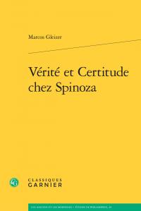 M. Gleizer, Vérité et Certitude chez Spinoza