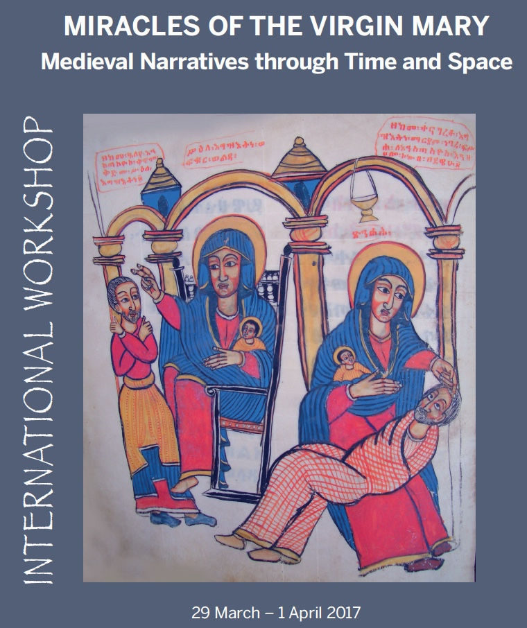 Miracles of the Virgin: Medieval narratives through time and space (Maynooth)