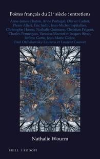 N. Wourm, Poètes français du 21e siècle: entretiens