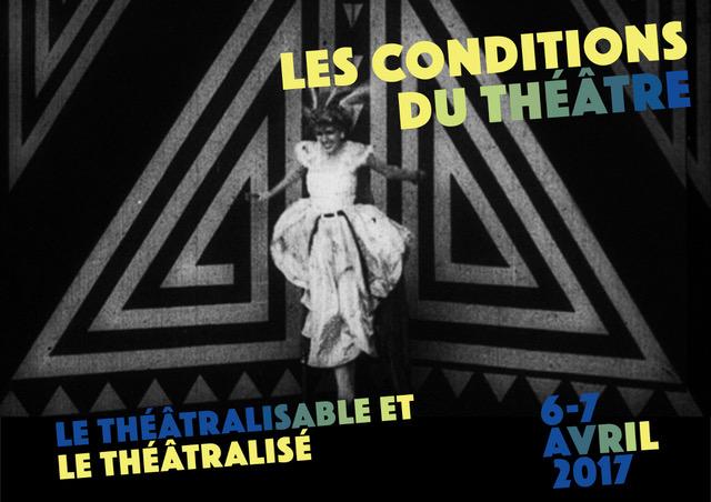 Les conditions du théâtre