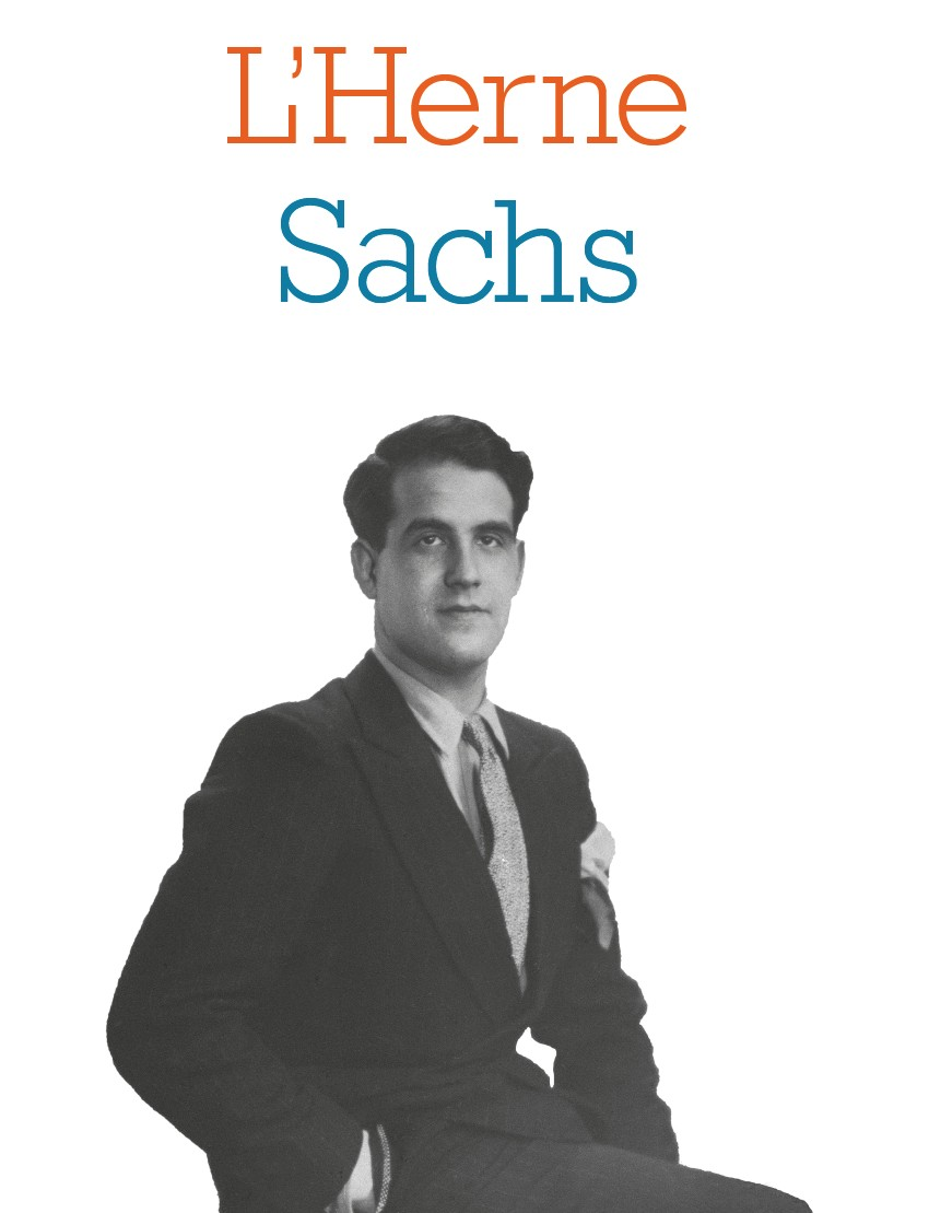 Cahier de l'Herne : Maurice Sachs