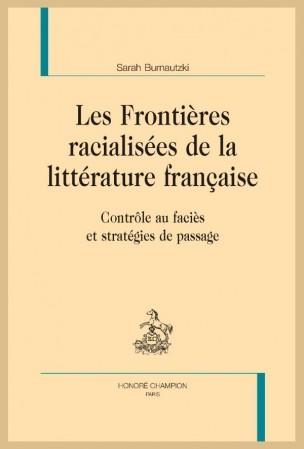 S. Burnautzki, Les Frontières racialisées de la littérature française