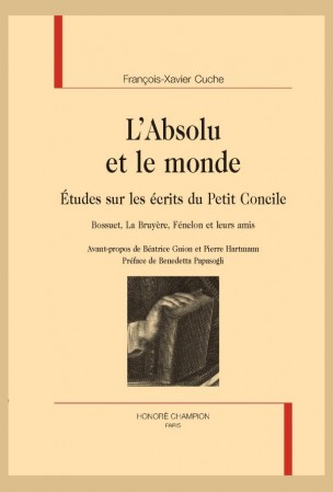Fr.-X. Cuche, L'Absolu et le monde. Études sur les écrits du Petit Concile