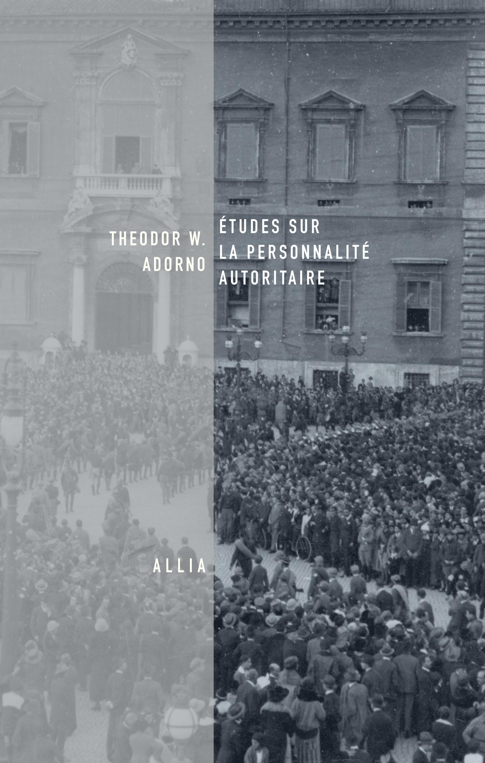 Th. W. Adorno, Études sur la personnalité autoritaire