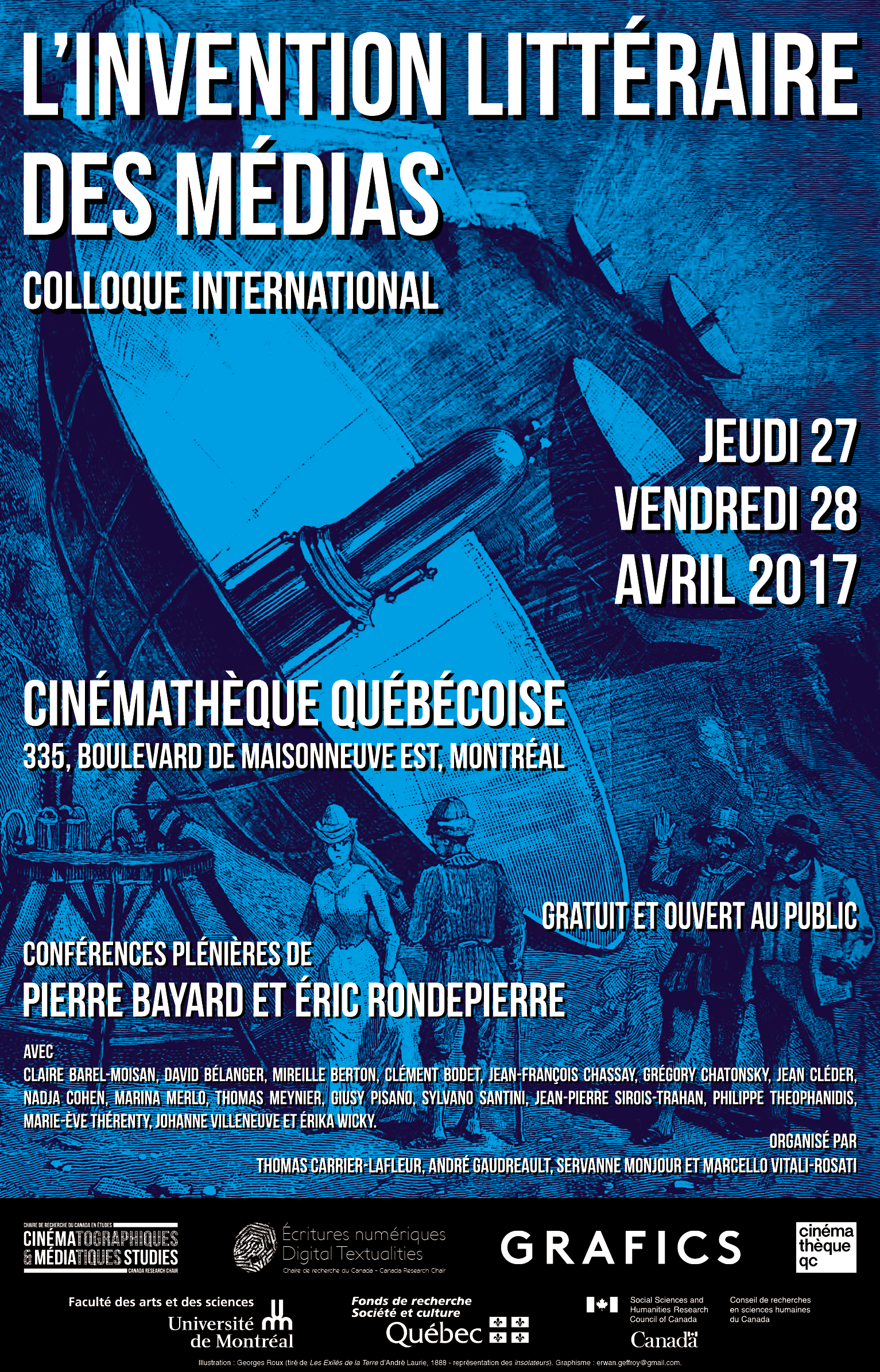 L'invention littéraire des médias (Montréal)