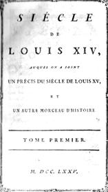 Voltaire, Diego Venturino (éd.), Siècle de Louis XIV (II): Listes et «Catalogue des écrivains»
