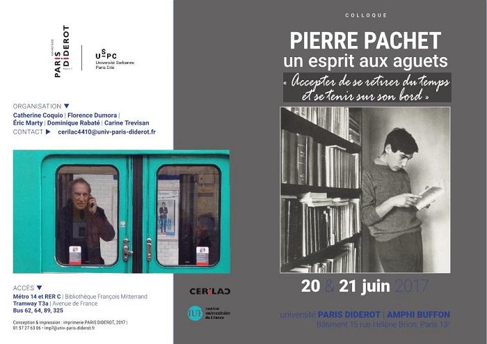 Pierre Pachet, Un esprit aux aguets