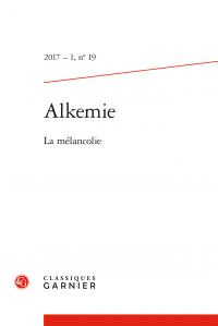 Alkemie, n° 19 :