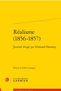 E. Duranty, Journal Réalisme (1856-1857)