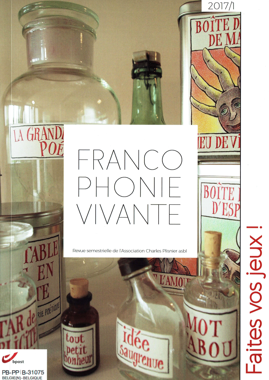 Francophonie vivante, 2017/1