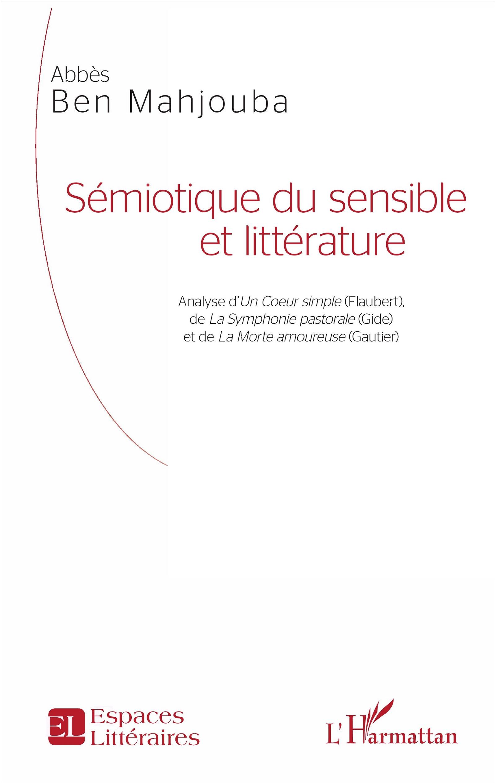 A. Ben Mahjouba, Sémiotique du sensible et littérature