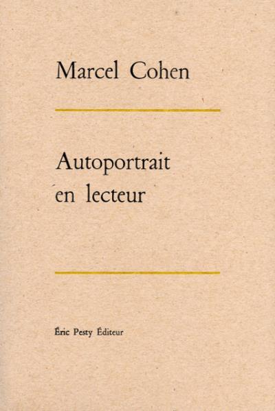 M. Cohen, Autoportrait en lecteur