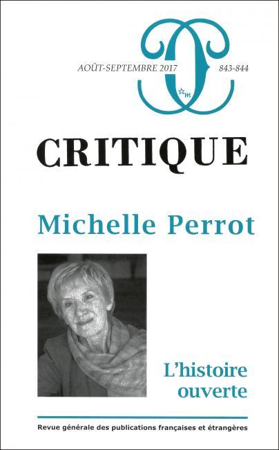 Critique, n° 843-844 :