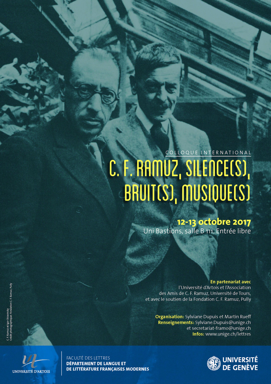 C.-F. Ramuz : silence(s), bruit(s), musique(s)