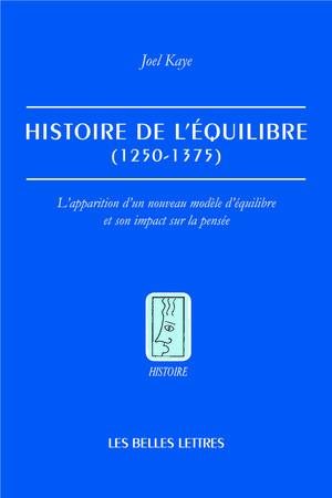 J. Kaye, Histoire de l'équilibre (1250-1375).