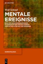 W. Schmid, Mentale Ereignisse