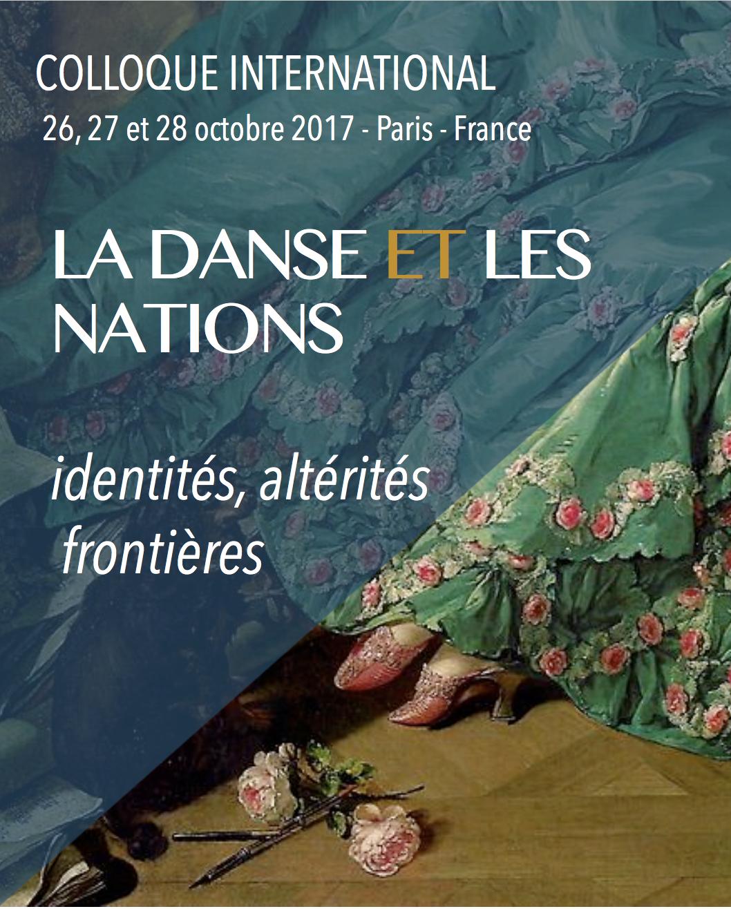 La danse et les nations : identités, altérités, frontières (XVIIe-XIXe s.) (Paris)
