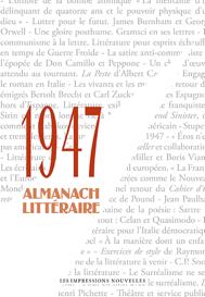 1947 Almanach Littéraire, coordonné par D. Martens, B. Van den Bossche & MDRN