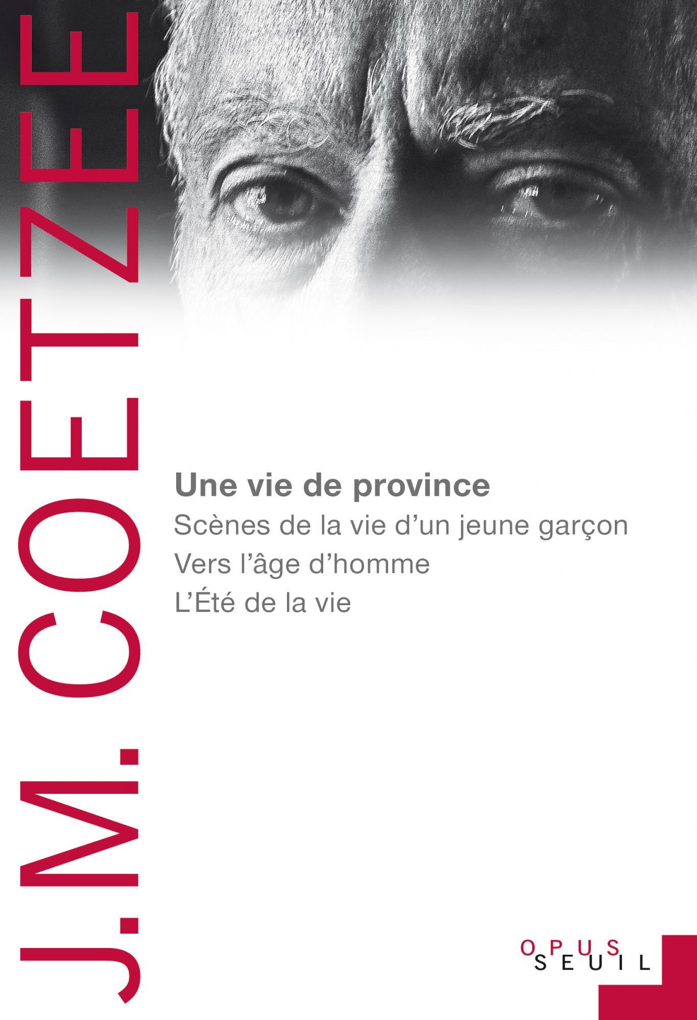J.-M. Coetzee, Une vie de province (triptyque autobiographique)
