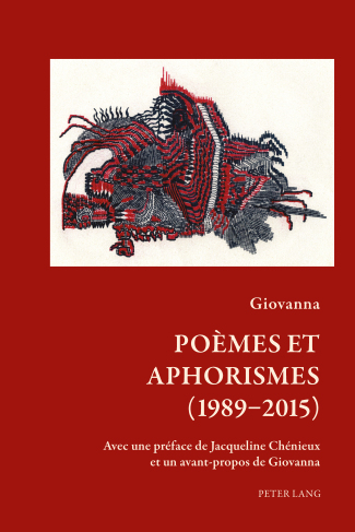 Giovanna, Poèmes et aphorismes (1989-2015)