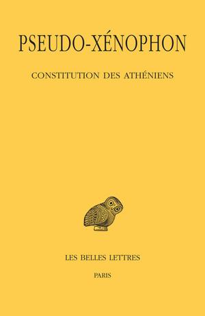 Pseudo-Xénophon, Constitution des Athéniens