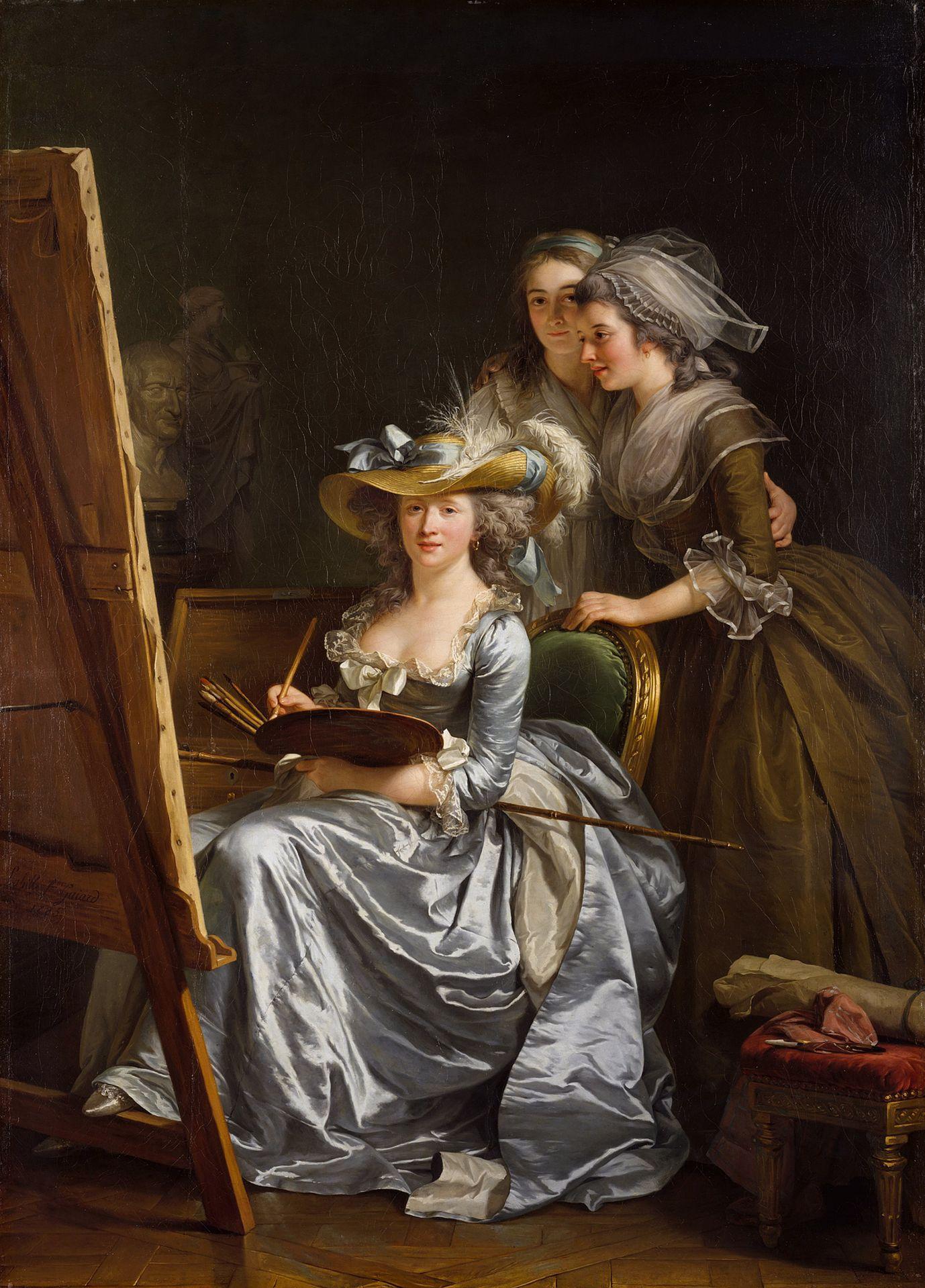 Femmes artistes à l'âge classique (Paris)