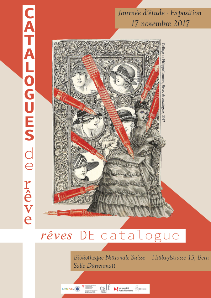 Catalogues de rêve, rêves de catalogue (BNS, Berne)