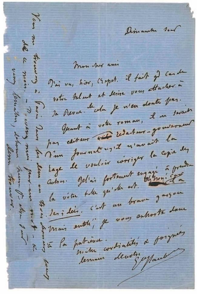 L'édition électronique de la correspondance de Flaubert