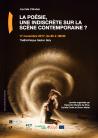 La poésie, une indiscrète sur la scène contemporaine ? (Paris)