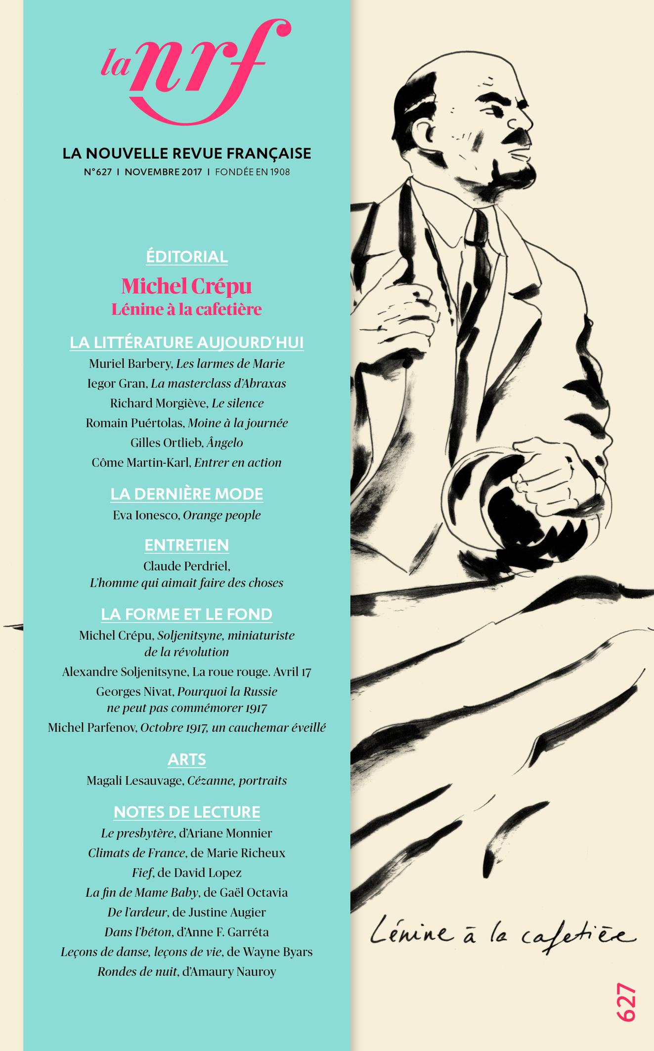 Nouvelle Revue Française, n° 627