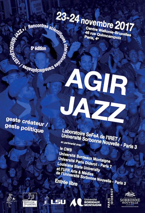 Esthétique(s) Jazz #5 : Agir Jazz (Paris)